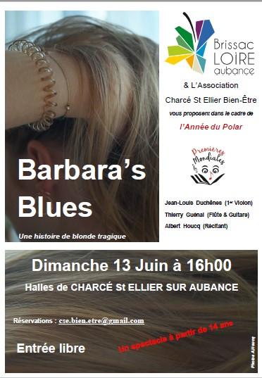L'année du polar accueille notre Barbara's Blues